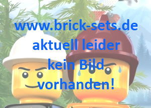 Bild für LEGO Produktset 2x4 Sand Red Ridge Roof Tiles, Steep Sloped